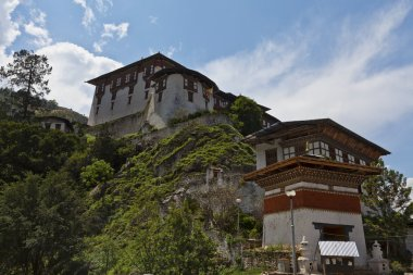 Lhuentse Dzong in Eastern Bhutan - Asia