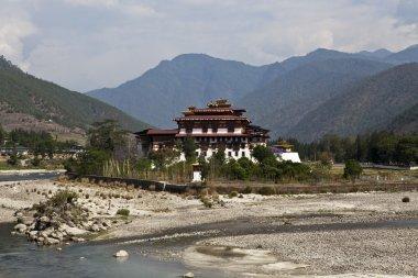 Pungtang Dechen Photrang Dzong in Punakha - Central Bhutan