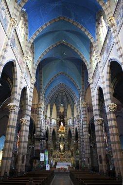 Interior of the Iglesia del Sagrado Corazon church of the Padres Capuchinos in Cordoba Capital city in Cordoba Province in North Argentina