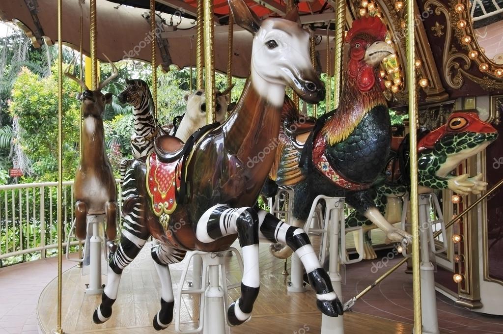 Reindeer circus