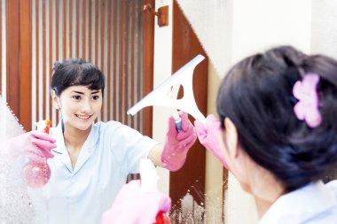 Beautiful Hotel maid
