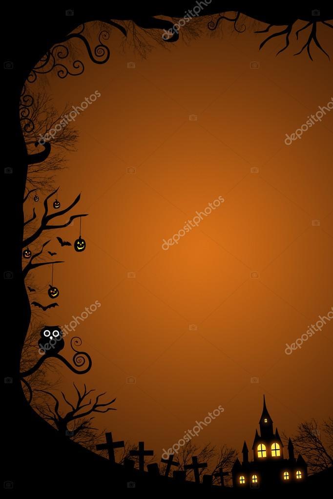 Halloween border for design — Stock Photo © realinemedia #29950271