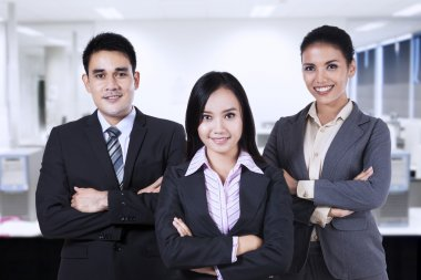 Confident business people 1