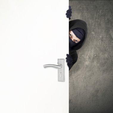 Home burglary concept