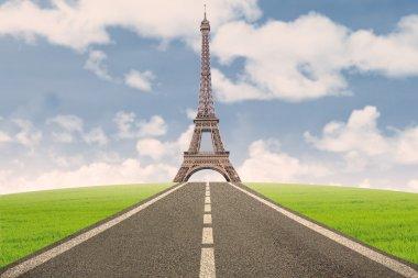 Beautiful Eiffel Tower in Paris