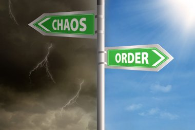Roadsign to chaos and order