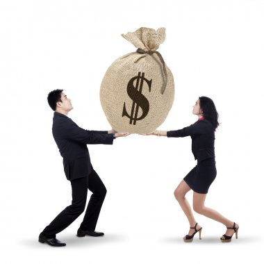 Business team get many income 1