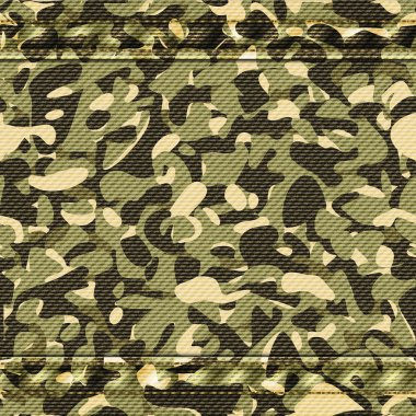 Military camouflage blue pattern. Vector illustration stock vector