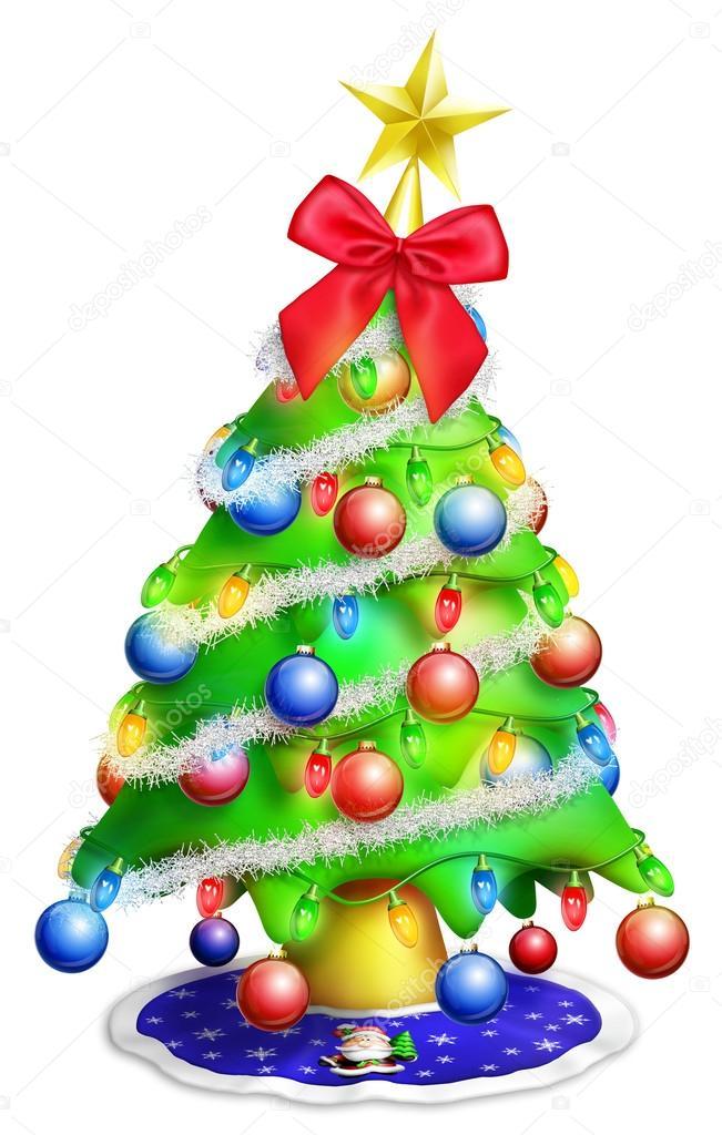 stunning great rbol de navidad dibujos animados caprichoso u foto de stock with rbol de navidad dibujo with dibujo arbol de navidad - Dibujo Arbol De Navidad