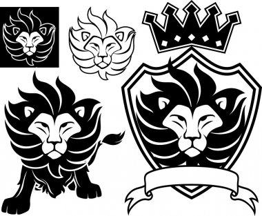 lion king vector set
