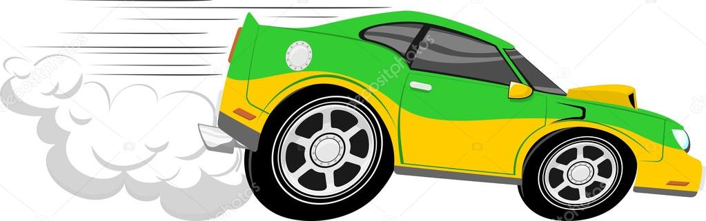 funny race car cartoon stock vector hayaship 26829771. Black Bedroom Furniture Sets. Home Design Ideas