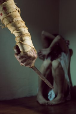 Abuse woman