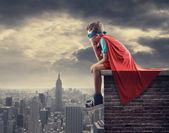 Fényképek kis szuperhős