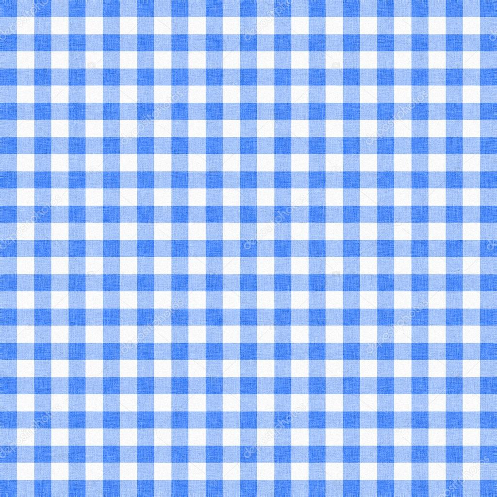 Blue Gingham Tablecloth Background Or Texture U2014 Photo By Kwasny222