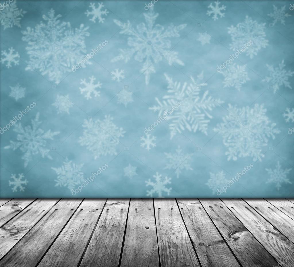 Leere tabelle mit weihnachten hintergrund stockfoto for Foto hintergrund weihnachten