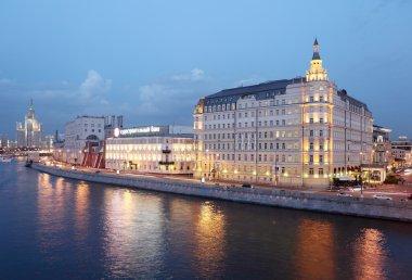 Moscow. Raushskaya embankment.