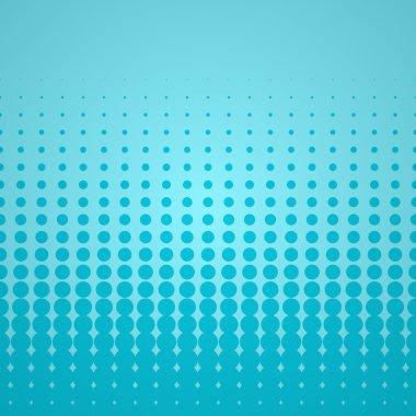 Blue Halftone Backdrop