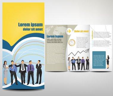 Vector Brochure Layout Design