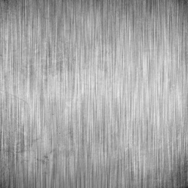 Brushed metal background