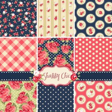 Shabby Chic Rose Patterns