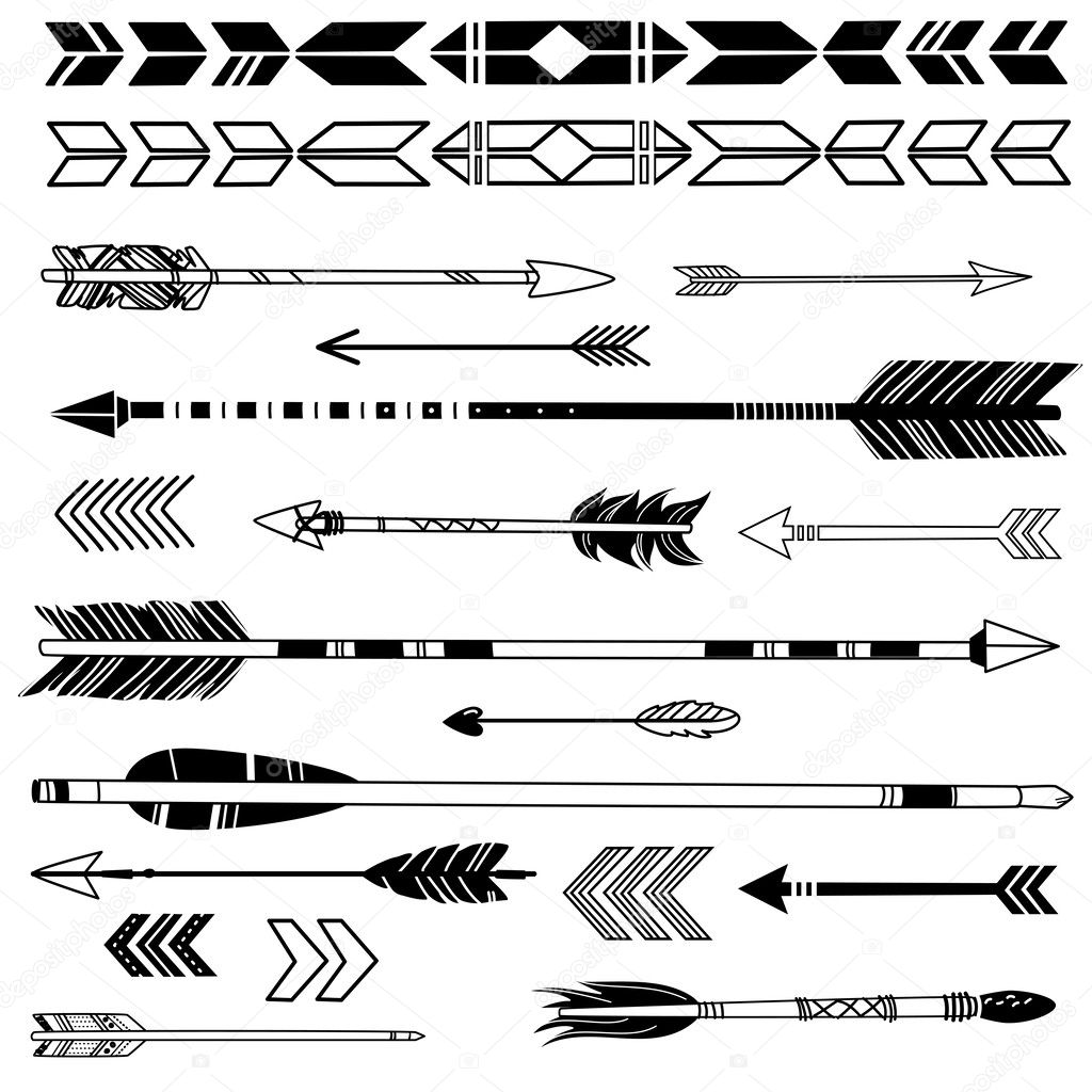 Hipster arrows