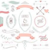 Svatební sada grafiky