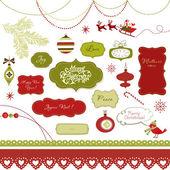 Fotografie vánoční album prvky