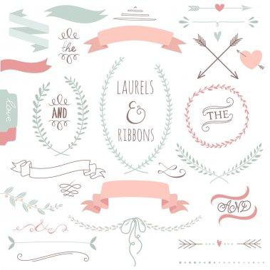 Wedding graphic set