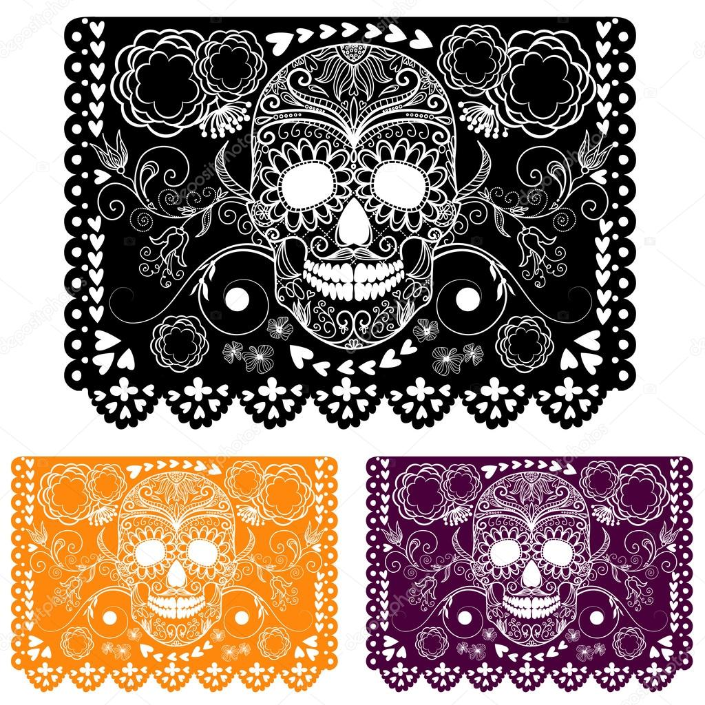Day of the dead decoration.