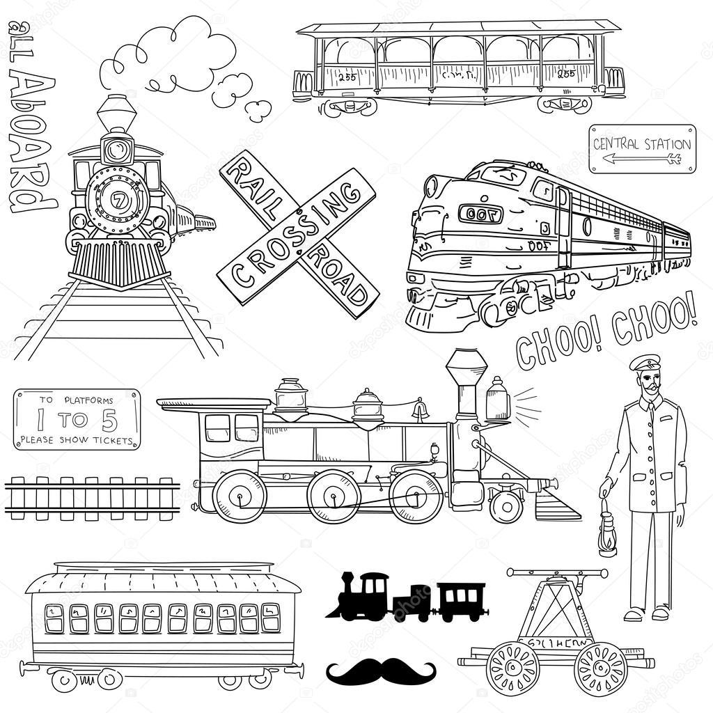 Trains vintage Collection