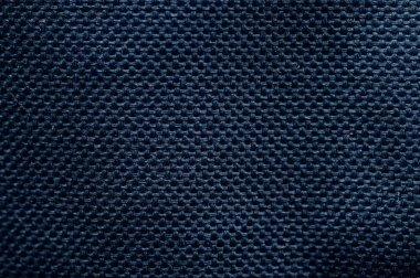 Navy blue background of fibre texture