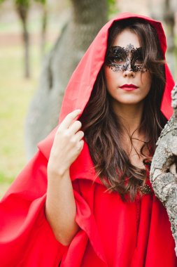 Masked Red Riding Hood
