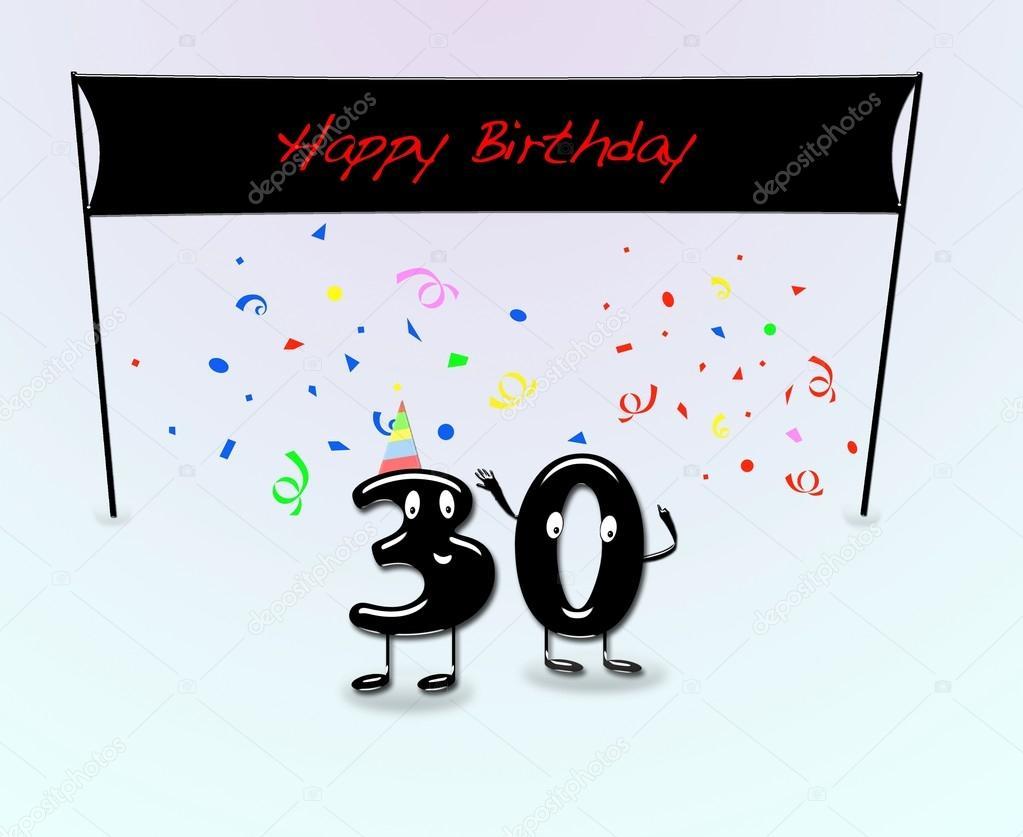 30 Urodziny Prezent Na 30 Urodziny Zdjęcia Stockowe