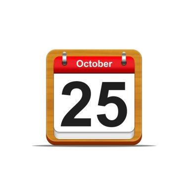 October 25.