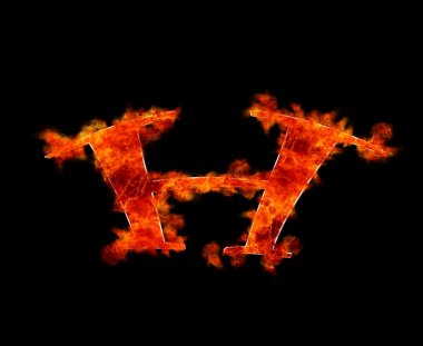 G burning.