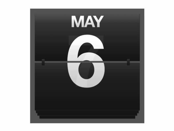 může kalendář.