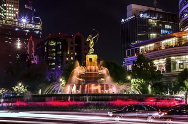 Fountain of Diana the Huntress, Mexico City