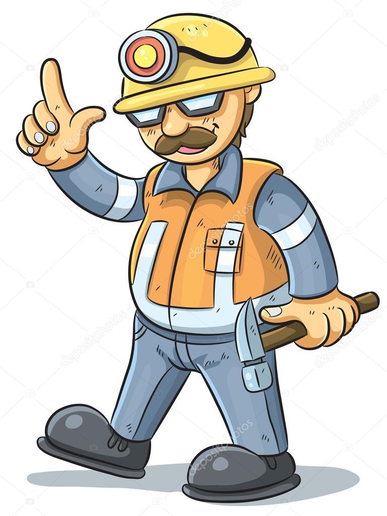 trabajador de la construcción — Archivo Imágenes Vectoriales © h4nk ...