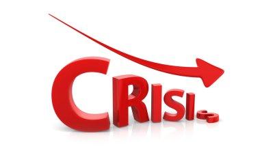 Crisis image concept