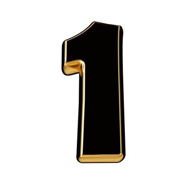 Black gold number