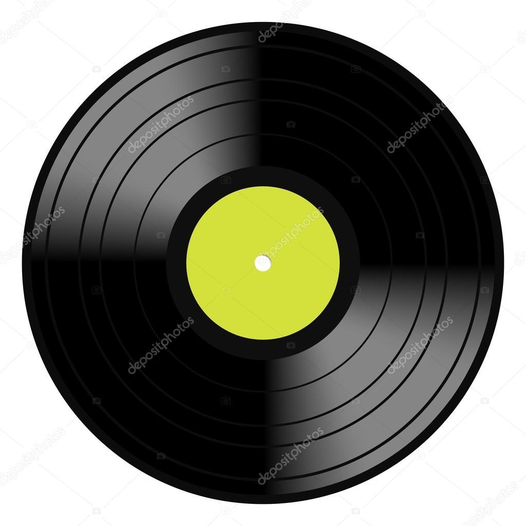 Lp Disco Vintage Vinilo Vector De Stock 169 Nirodesign