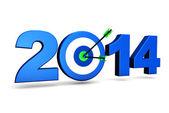 Nový rok 2014 obchodní cíle