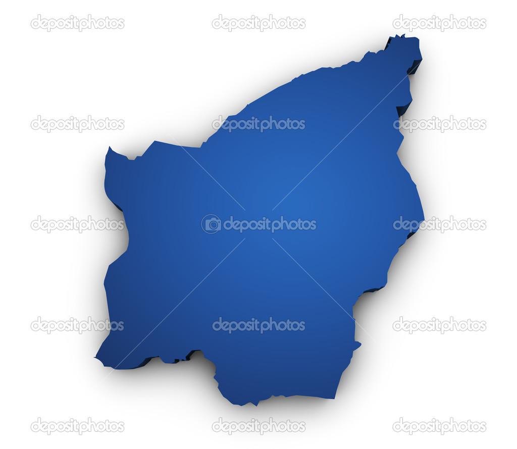 Map Of San Marino D Shape Stock Photo NiroDesign - San marino map download