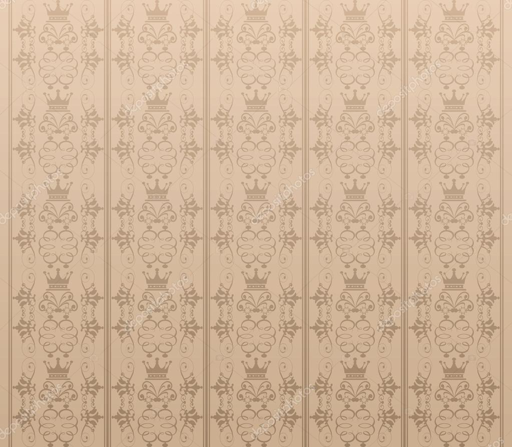 Background Retro Wallpaper Pattern Seamless Vector Vintage Texture For Your Design By Kio777