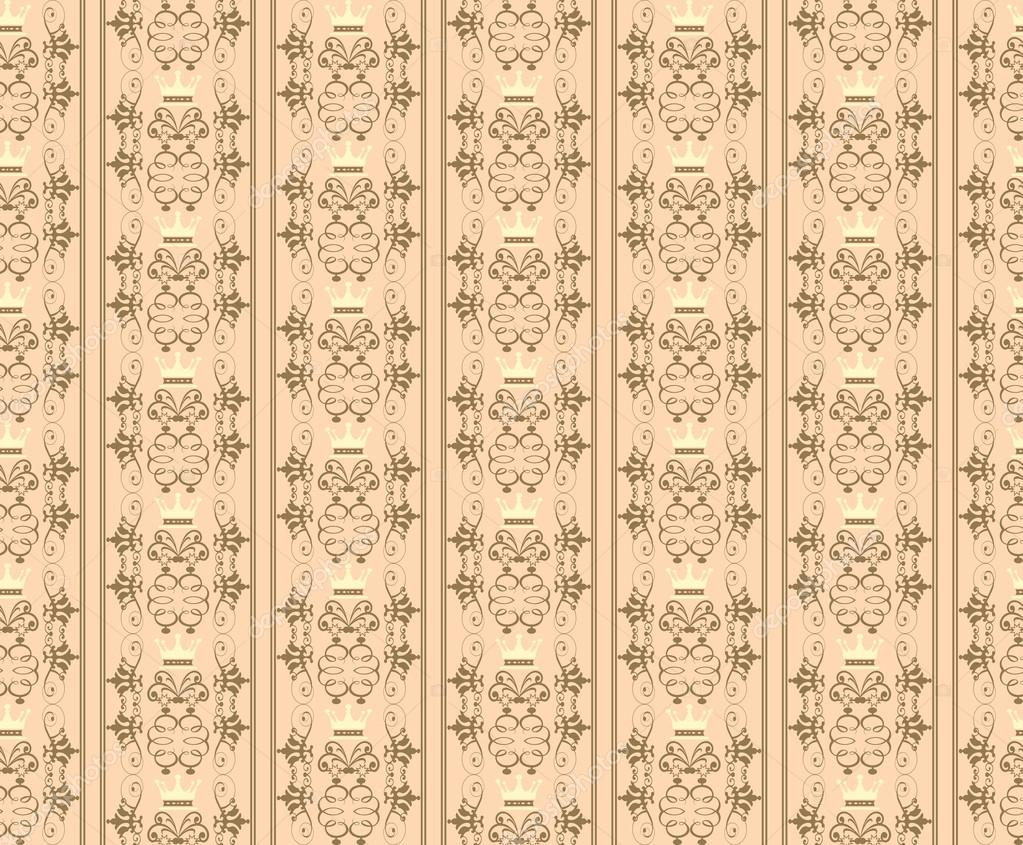 Background Retro Wallpaper Pattern Seamless Vector Vintage Texture By Kio777
