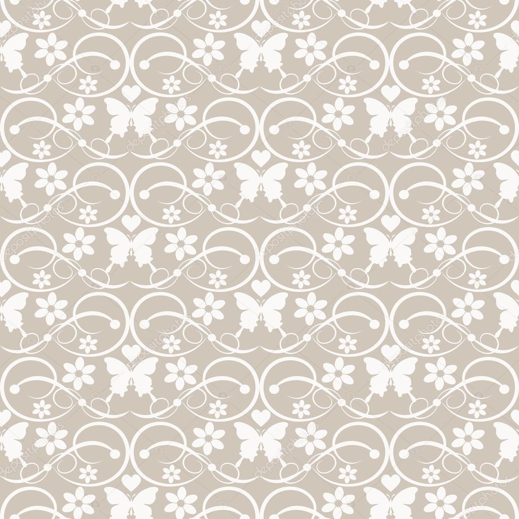 Vector pared vintage damasco papel pintado decorativo for Papel decorativo pared