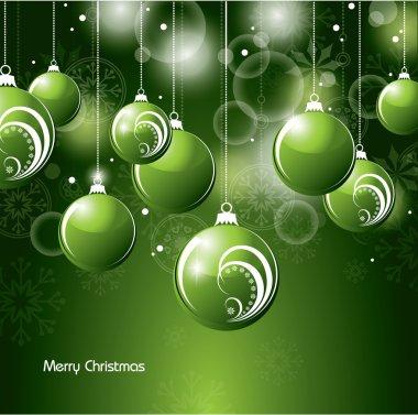 Christmas Background. Vector Illustration.