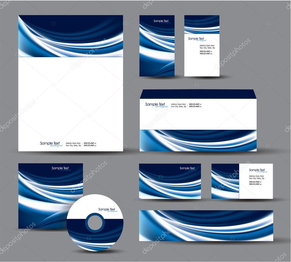 Modern identity package vector design letterhead business cards modern identity package vector design letterhead business cards cd dvd envelope banner header vector by zoyaart reheart Choice Image