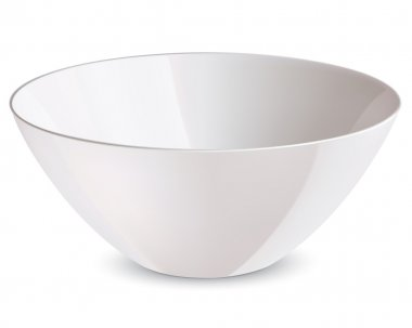 Bowl isolated. Vector illustration