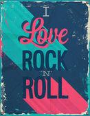 én szeretem a rock and roll